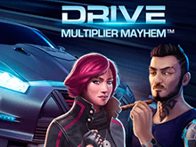 Drive: Multiplier Mayhem от Netent